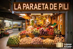 central market alicante left luggage