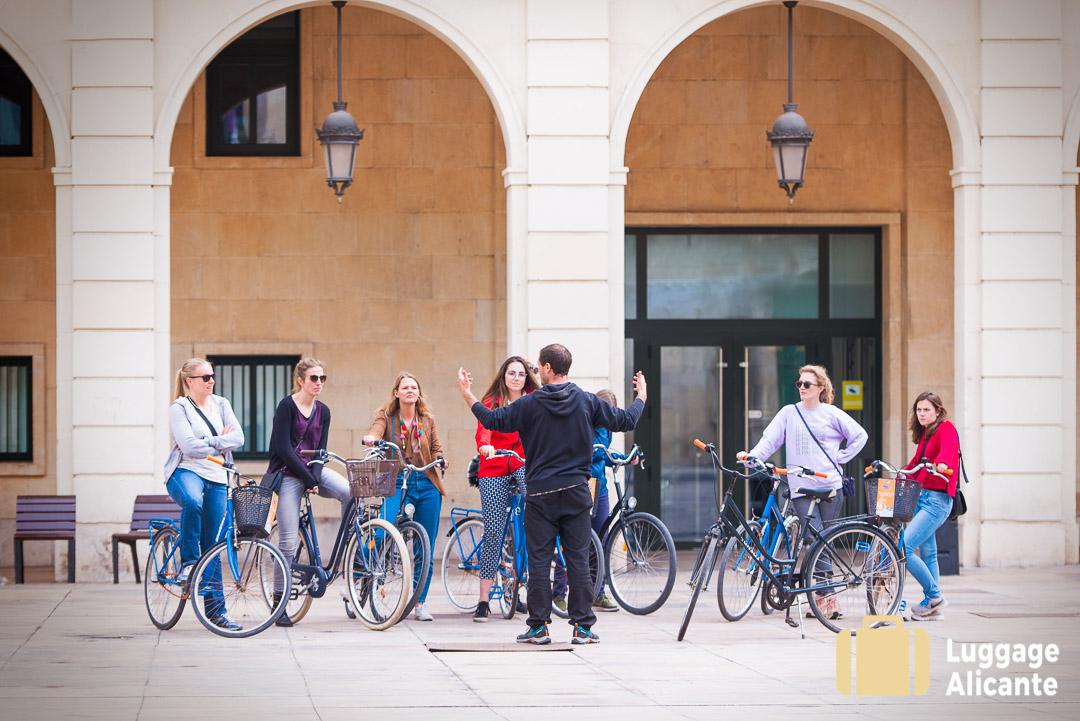 Blue Bike Bicycle Rental Alicante