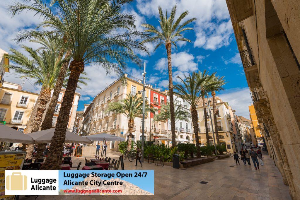 alicante luggage storage left luggage city center 29