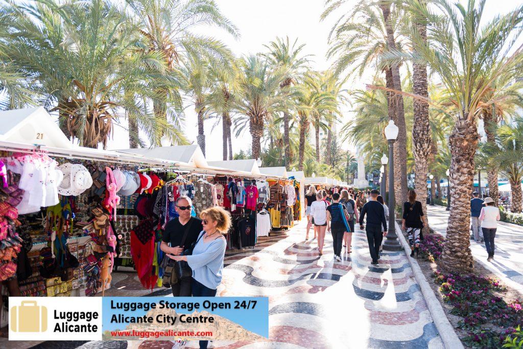 alicante luggage storage left luggage city center 87
