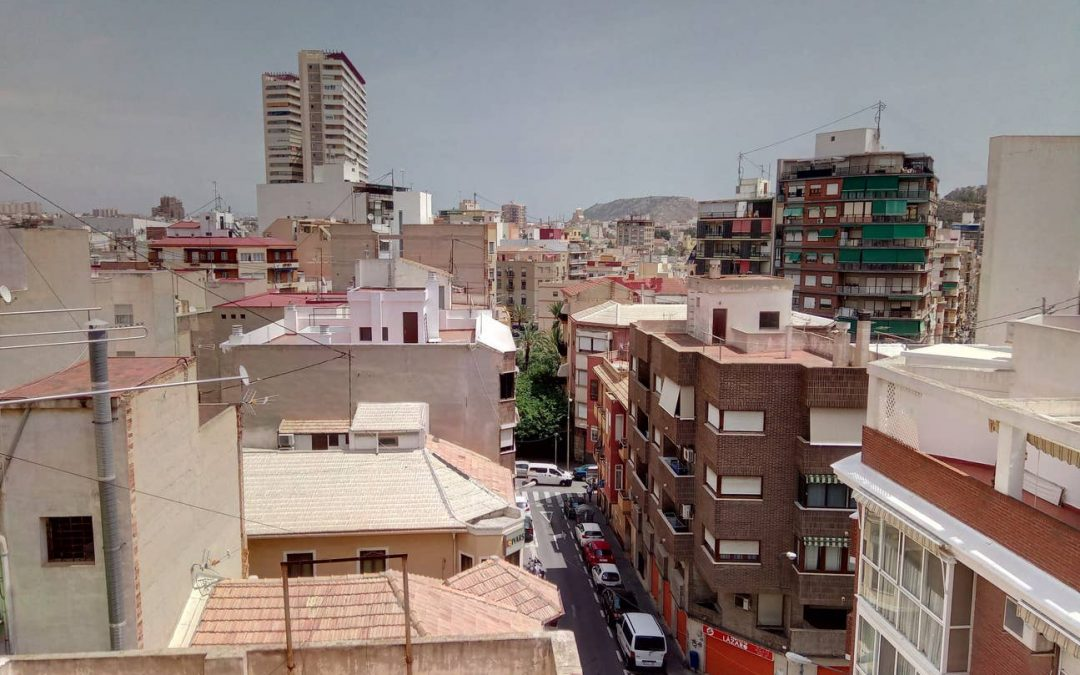 1 Bedroom apt balcony /Central Alicante (Mercado)